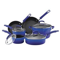 Take A Look At This Rachael Ray Purple 10 Piece Cookware