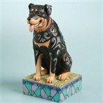 Roddie-Rottweiler Figurine from  - Jim Shore Store