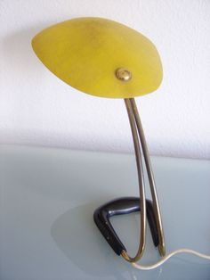 Rare MID CENTURY MODERN Carl AUBÖCK TABLE LAMP Light AUSTRIAN Vienna 1950s