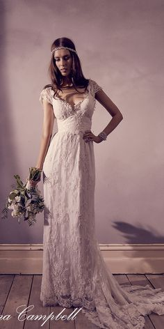 Anna Campbell FOREVER ENTWINED Wedding Dresses02 / http://www.deerpearlflowers.com/forever-entwined-wedding-dresses-from-anna-campbell/