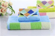 Soft 100% Cotton 3 PC Bath Towel Set