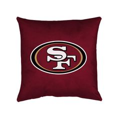 San Francisco 49ers Locker Room Pillow