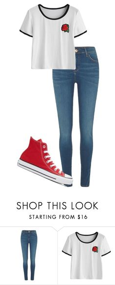 """""""Untitled #116"""" by kbwalrus on Polyvore featuring River Island and Converse"""
