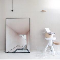 """mimmistaaf på Instagram: """"Nu har vi fått in ett gäng Pink Stairs i 50x70 cm för er som efterfrågat denna! Finns även på mimmistaaf.com 💻 Foto & styling: @annaleena_design"""""""