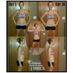 Core De Force Before and After Results #Transformation #AtHomeWorkouts #Beachbody #MMA #Kickboxing #MartialArts