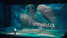 Mind blowing content on the brand new WorldStage i5FLOOR LED technology for the opening night keynote for CES 2018.