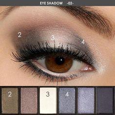 8colors Eyeshadow Glitter Metallic Nude Smoky Primer Eye Shadow Waterproof Natural Easy To Wear Liquid Eyeshadow Makeup Palette Lustrous Beauty & Health