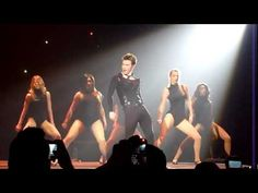 """Kurt dancing to """"Single Ladies"""" by Beyonce at glee concert.  How can you not smile... what confidence!"""