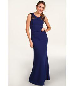 Evans Evening Gown Blue Depths
