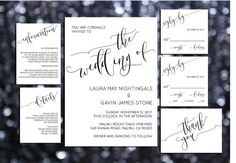 Printable Wedding Invitation Template  Wedding Invites by Dantell