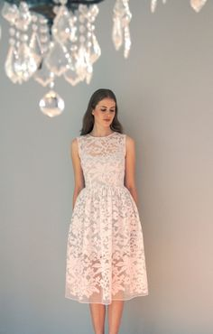 Two piece organza dress