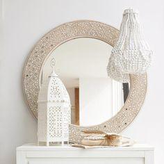 Miroir rond Aissa