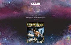 Gratis Prince of Persia: Le Sabbie del Tempo http://www.sapereweb.it/gratis-prince-of-persia-le-sabbie-del-tempo/        Ubisoft Club presenta Ubi30 Per festeggiare il30° compleanno di Ubisoft, Ubisoft Club regala a titolo gratuito sette titoli digitali che hanno fatto la storia per PC. Il CEO Yves Guillemot lo ha ricordato al termine della conferenza E3 2016 lanciando la campagna UBI30. La campagna U...