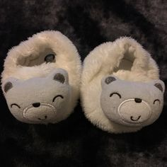 For Sale: GerberBaby Bear Bootie Slipper for $3