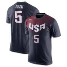 782d10f097657 Kevin Durant 2014 USA Basketball Jersey T-Shirt Basketball Jersey