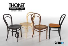 3d model chair - Thonet 214 to download – Giancr