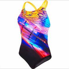 99fe078c2a3e Costume Donna Digital Speedo #costumi #piscina #donna #swimming  #swimmingpool #acquagym #nuoto