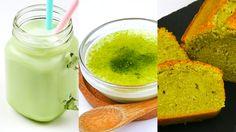 Testez 3 recettes au thé matcha en quelques étapes grâce au savoir-faire Les fées Maison. Le thé matcha possède beaucoup de bienfaits et sera parfait pour vous réconforter cet hiver ! Sans Gluten, Matcha, Cantaloupe, Fruit, Parfait, Vegan, Recipes, Kitchens, Winter