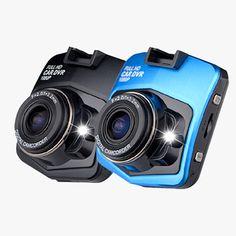 CAR GT300 Full 1080p HD DVR Dash Camera With Night Vision - Black or Blue