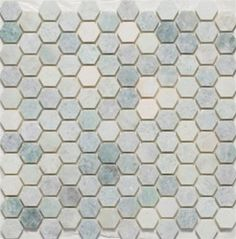 http://www.mosaictilestone.com/Hexagon-Mosaic-Tile-1-Inch-Ming-Green-p/m-hex-mg.htm