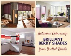 Read our expert design advice for incorporating warm winter colours into your home, from rich berry shades to warming spiced tones. Home Decor Inspiration, Color Inspiration, Winter Colors, Autumn Colours, Contemporary Windows, Living Room Blinds, Energy Efficient Windows, Kitchen Blinds, Hygge Home