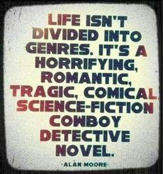 Life doesn't have the classic plot arc either.