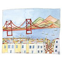 THE PERFECT VIEW - RENEE LEONE UncommonGoods, I heart San Francisco!