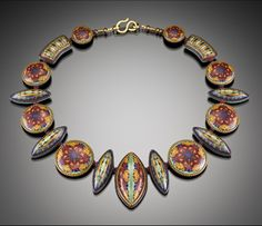 Sarah Shriver - I'm lucky enough to have a necklace and earrings from this Frieda Kahlo series