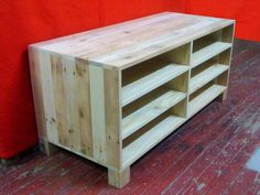 Pallet Media Console & TV Stand
