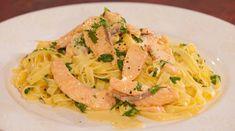 Fettuccine with Salmon and Lemon Sauce - Lifestyle FOOD