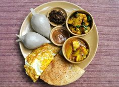Newari food - Nepal....You may find this at khaogali.com
