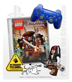 Playstation PS3 games by Sony - Lego, Pirates of Caribbean - MadDogLeo.com