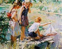 """A summer's day"" by Vladimir Gusev."