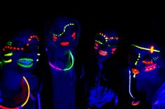 Girls night out - Glow party or 80's themed!