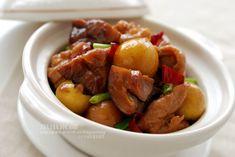 紅燒栗子雞—輕鬆的幫栗子脫衣服 | 小小米桶