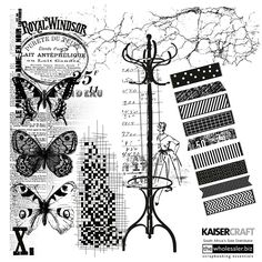 Kaisercraft - Clear Stamps. Where would any scrapbooker be without stamps? They add that little extra detail to any scrapbook layout, card or crafting project! We love the Kaisercraft Clear Stamps! The selection is huge and the variety of designs make them easy to work with.