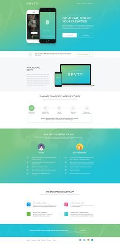 Grvty Landing Page Design by sumit chakraborty