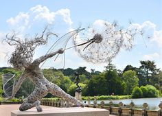 Stainless Steel Wire Fairies by Robin Wight