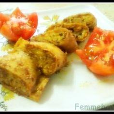 Lentils stuffed dumplings (Faraa)