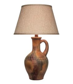 Desert Collection Lamp 669RD Western Lamps - From our Made in the USA Desert Collection. Textured base in aged desert sunset hues with subtle Southwest accent.