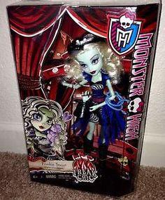 Monster High Freak Du Chic Frankie Stein New Doll in Hand Just Released   eBay