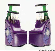 Purple Game Boy Shoe Helen Red Richards