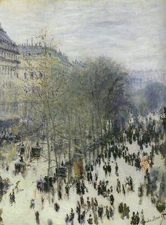 Boulevard des Capucines • Claude Monet • 1873