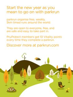 Parkrun- a great way to start a Saturday morning. Find your nearest Parkrun!