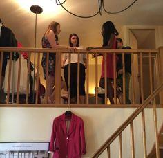La Maison Borrelly - Vente Privée à la Bastide du Roi René à Aix-en-Provence - Discussion entre Nora la créatrice et les bloggeuses #lamaisonborrelly #venteprivee #madeinfrance #madeinprovence #mode #fashion #tendance #madeinfashion #event #newbrand #fashionbrand #collectionprintempsete2015 #ss15 #fashionbloggeuse #fashionblog
