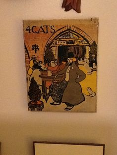 4 cats by Picasso