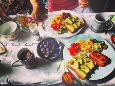 Goodmorning☕️ #sunday #breakfast