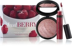 Laura Geller Beauty 'Just Berry' Two-Piece Set for Cheeks & Lips Beauty Tips For Hair, Beauty Make Up, Baked Blush, Lip Gloss Colors, Dramatic Makeup, Laura Geller, Makeup Kit, Best Makeup Products, Beauty Products