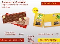 ¡Disfrutar de nuestras promociones y disfrutar de nuestros maravillosos chocolates! Travel, Wooden Chest, Bonbon, Messages, Viajes, Destinations, Traveling, Trips