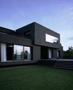 Marvelous Modern House Architecture Design Marvelous Modern House Architecture Design Ideas Dom z zewnątrz House Exterior Colors – 14 Modern Black Houses From Around The World Contemporary House Plans, Modern House Plans, Modern House Design, Modern House Exteriors, Home Modern, Modern Houses, Contemporary Design, Architecture Design, Modern Architecture House